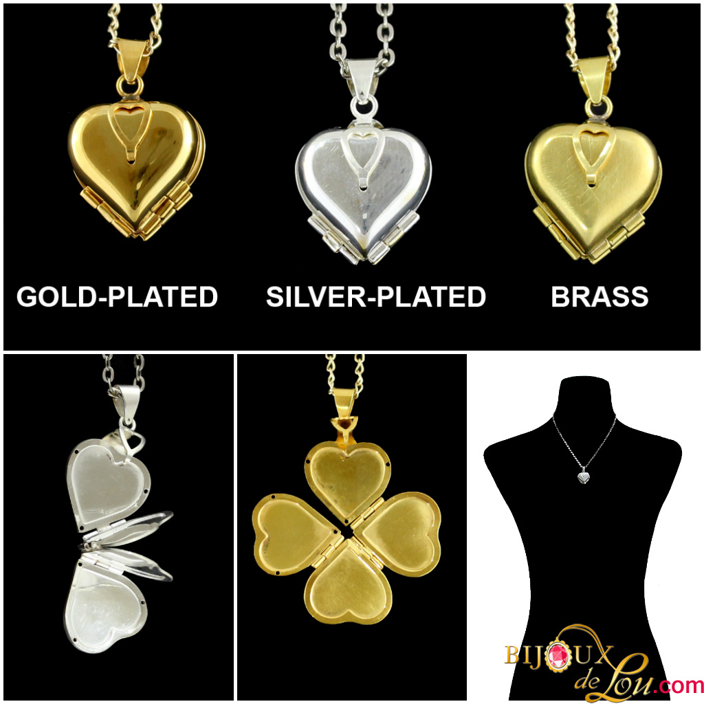Reviews on Heart and Oval Accordion Lockets
