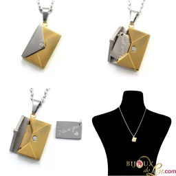 2tone_steel_love_letter_necklace_collage