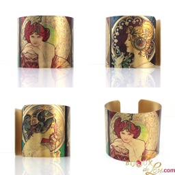 alphonse_mucha_primrose_feather_emerald_brass_cuff
