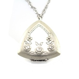 antique_silver_triangular_locket_necklace_1