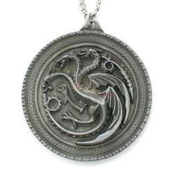 antiquedsilver_targaryen_sigil_disc_necklace