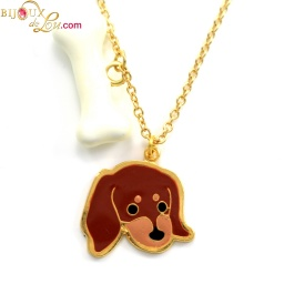 bone_daschund_charm_necklace