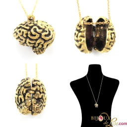 brass_3d_brain_locket_necklace
