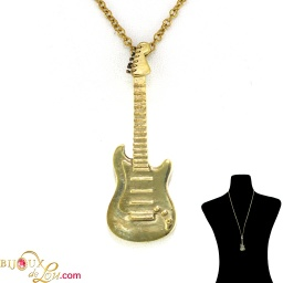 brass_3d_electric_guitar_necklace