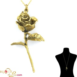 brass_3d_rose_necklace