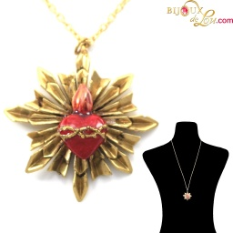 brass_3d_sacred_heart_necklace_1_1
