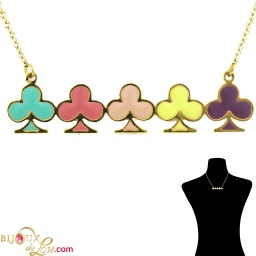 brass_enameled_5_clubs_necklace