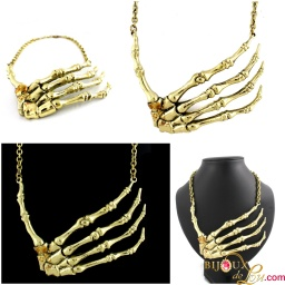 brass_skeletal_hand_necklace