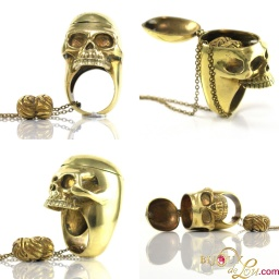 brass_skull_locket_ring_brain_necklace_set_921976327