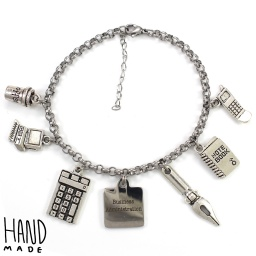 business_administration_charm_bracelet