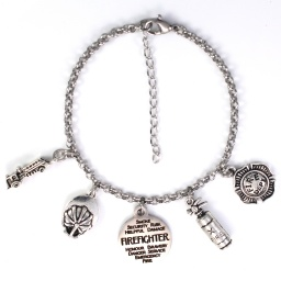 fire_fighter_charm_bracelet