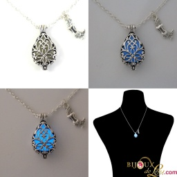 glow_mermaid_tear_charms_necklace