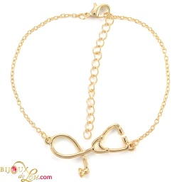 gold-plated-3d-stethoscope-bracelet