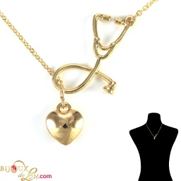 gold-plated-3d-stethoscope-heart-necklace