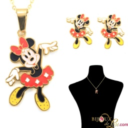 gold_ssteel_dancing_minnie_mouse_set