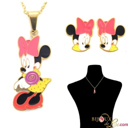 gold_ssteel_pink_bow_minnie_mouse_set
