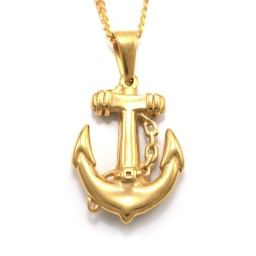 gold_stainless_steel_anchor_necklace_1