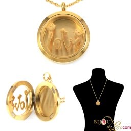 gold_steel_love_magnetic_locket_necklace