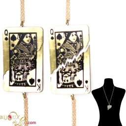 king_queen_spades_necklace_set