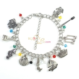 little_mermaid_charm_bracelet