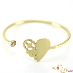 mechanical_heart_bracelet