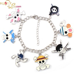 one_piece_luffy_charm_bracelet