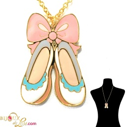 pastel_ballerina_slippers_necklace_white