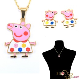 peppa_pig_white_flower_dress_necklace
