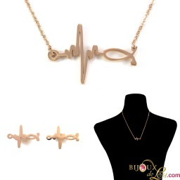rose_gold_ecg_stethoscope_set3