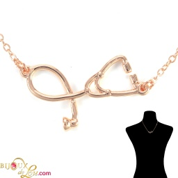 rosegold-plated-3d-stethoscope-necklace