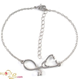 silver-plated-3d-stethoscope-bracelet