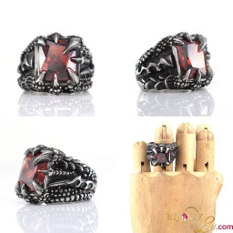 steel_square_red_gem_claws_ring