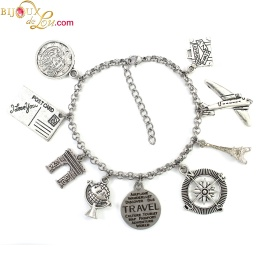 travel_themed_charm_bracelet
