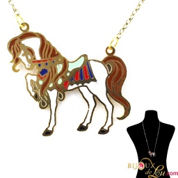 victorian_horse_necklace